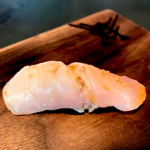 Menuke - Deep Sea Red Rockfish with it's liver and soy
