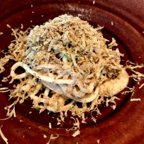 Sesame Noodles with black truffle